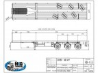Nooteboom 3-axle Flatbed trailer